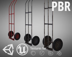 Trolley For Cylinders 3D asset