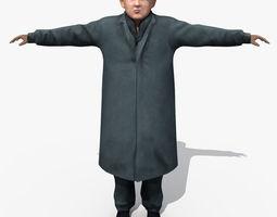 Asian Man 05 3D