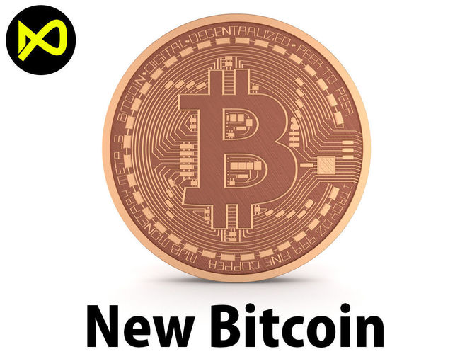new bitcoin 2018 3d model max obj mtl 3ds fbx c4d lwo lw lws 1