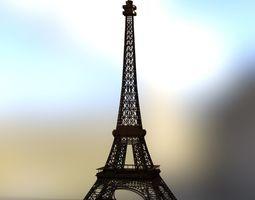 Eiffel Tower for DAZ Studio 3D