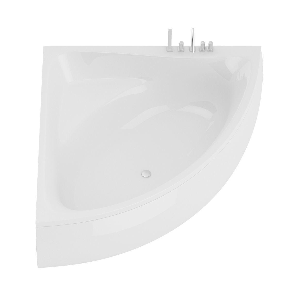 Corner Bathtube 3D | CGTrader