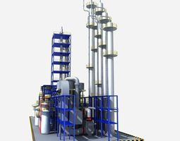 Fluorine Factory Equipment 3D model