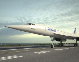 Aerospatiale-BAC Concorde 3D model