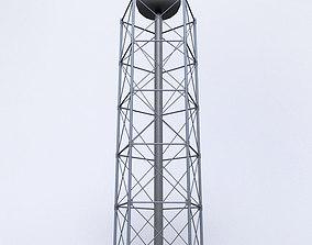 3D asset Scaffolding radio tower power small