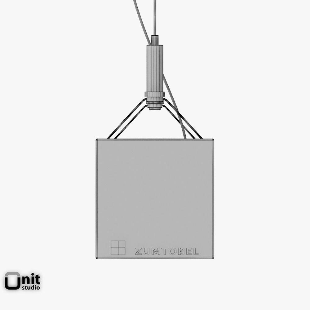 zumtobel lincor pendant led luminaire 3d model max obj 3ds fbx dwg. Black Bedroom Furniture Sets. Home Design Ideas