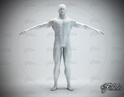 Male body Std Mat 3D Model