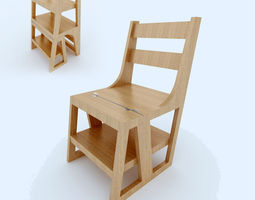 Chair Stair Convertible 3D model