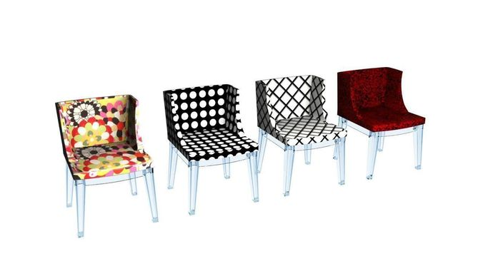 Captivating Kartell Mademoiselle Chairs Collection 3d Model Max Obj Mtl Fbx Dwg 1 ...