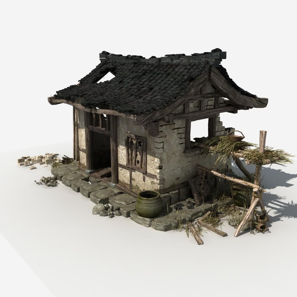 Chinese Broken house