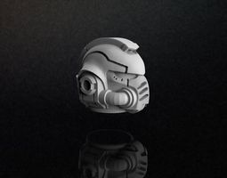 Primaris Space Marine Helmet 3D Model