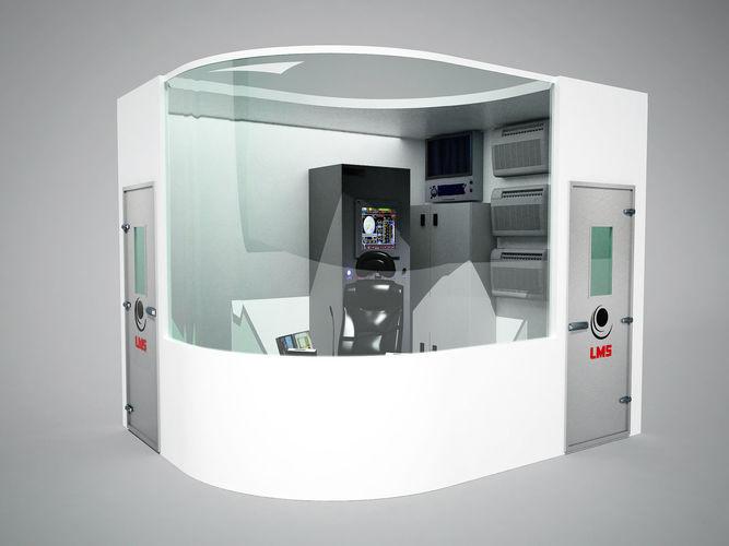 drillers cabin 3d model max obj mtl 3ds fbx 1