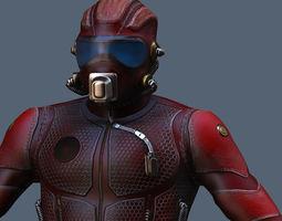 3D model Tech Commander