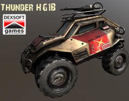 3D asset Thunder HG1B