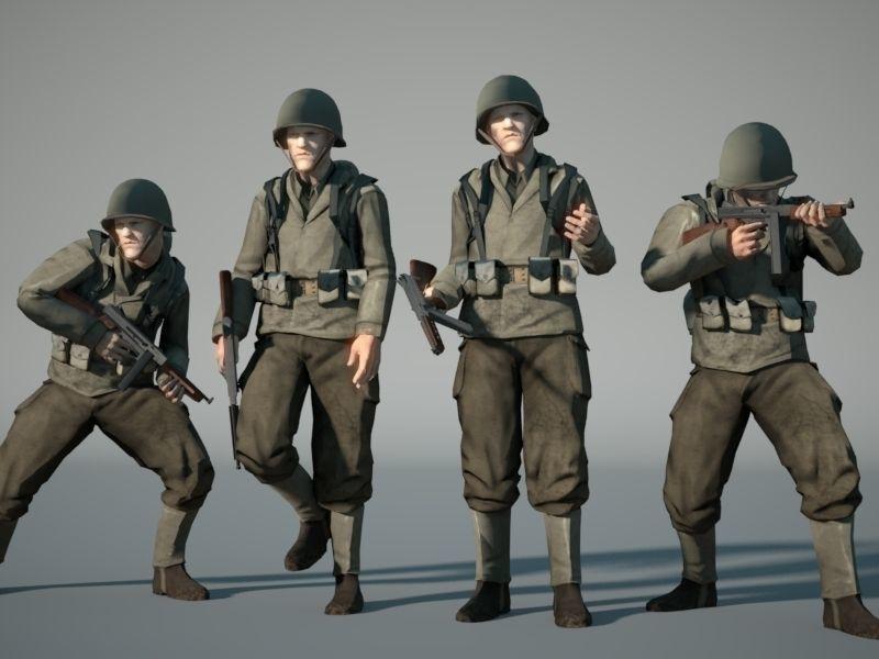 WW2 US-Soldier