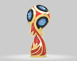 Russia 2018 Fifa World Cup 3d model