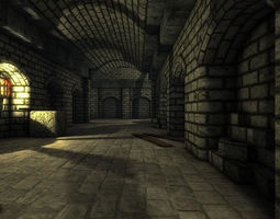 3D model Dungeon Level