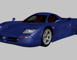 3D model Nissan R390 1998