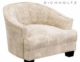 3D model Eichholtz Polaris armchair
