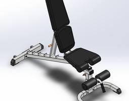3D fid bench adjustable bench