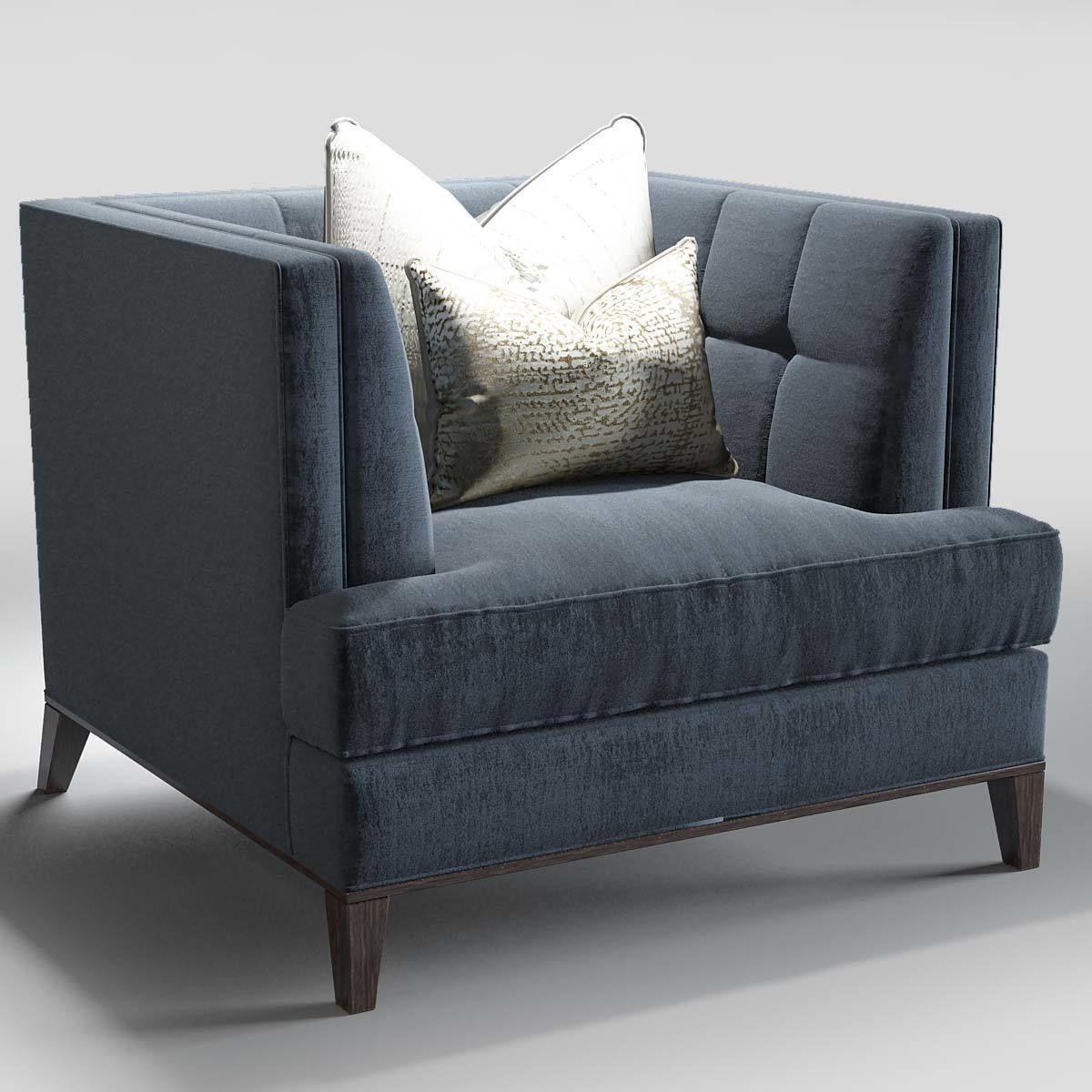 Charmant ... The Sofa And Chair Company Preston Sofa Hirst Table 3d Model Max Obj ...