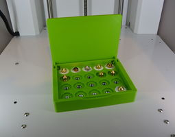 3D printable model Nozzle Box