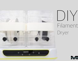 DIY Filament Dryer 3D printable model