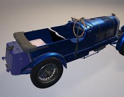3D Bentley 1930