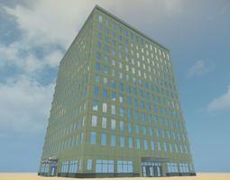 Hotel Belmont 3D asset