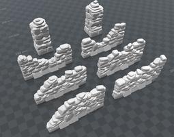 3D print model stone Stone Walls