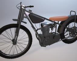 Jawa Motorbike 3D model