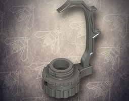 B-Holder - Miniature Painting Holder 3D printable model