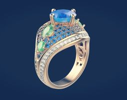 3D print model Ring 58