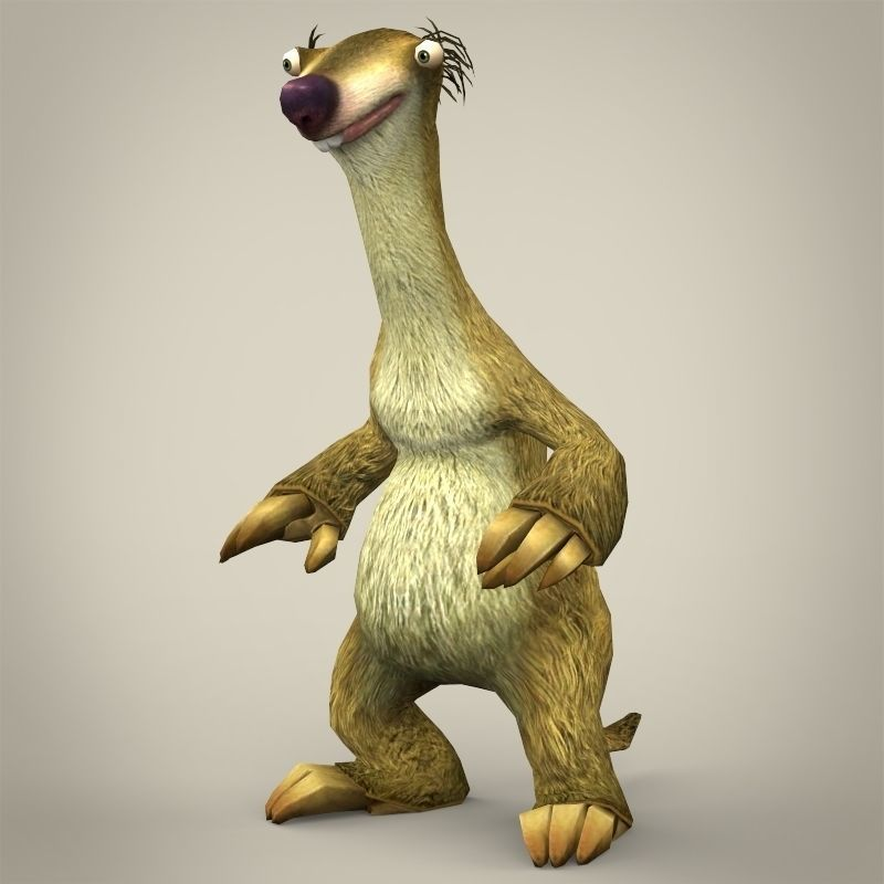 sid from ice age is what animal