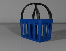 Shopping Basket handle 3D model