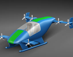 3D Flying Car Prototype fi