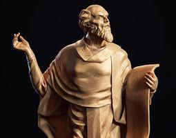 PBR Ancient statue 3d-print model