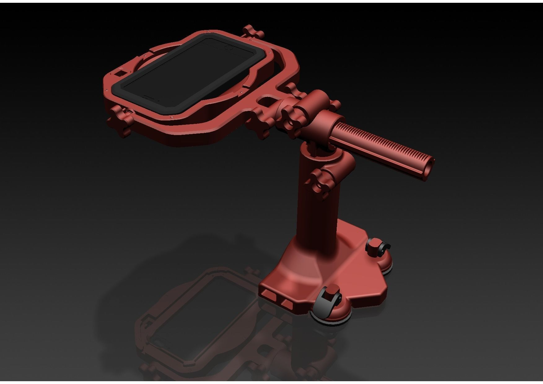 Adjustable Arm Holder for Iphone 7 Plus with IP68 Case