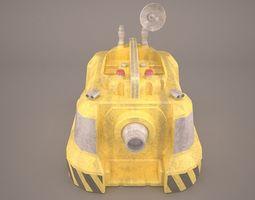 3D model Wash droid Star Wars