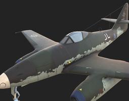 3D model Messerschmitt Me262