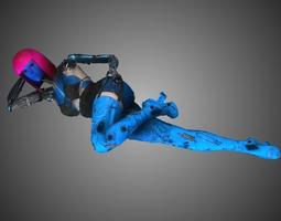 3D Robot Girl