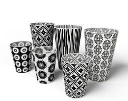 Decor Cup Set 3D
