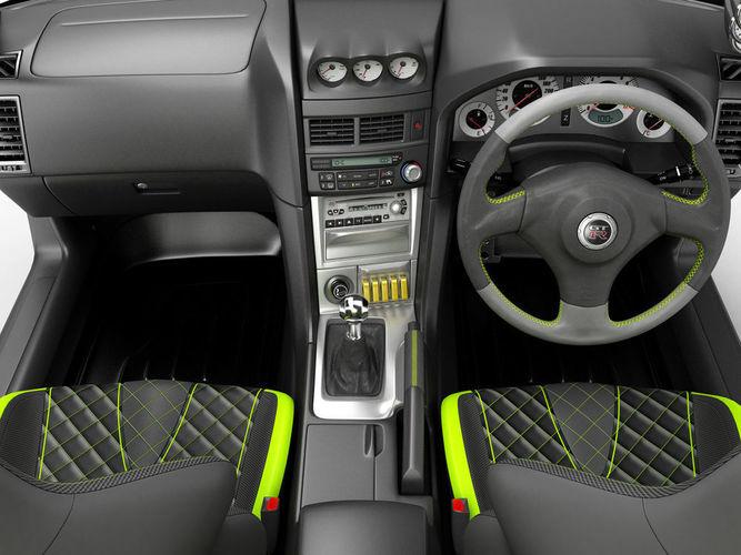 3d interior of a sports car cgtrader