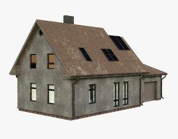 3D asset Building 001