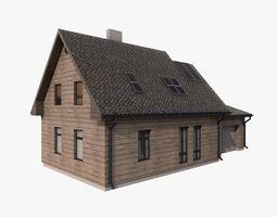 Building 002 3D asset