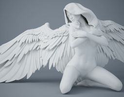 3D printable model Sexy angel series 004