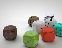 Color Dice 3D printable model