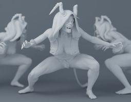 3D print model Devil