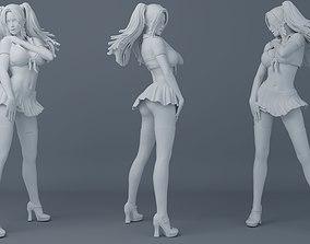 3D print model Short skirt girls