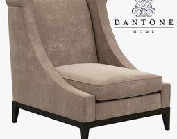 3D Dantone Home Luise armchair