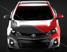 Toyota Corolla 2014 S USA 3D model
